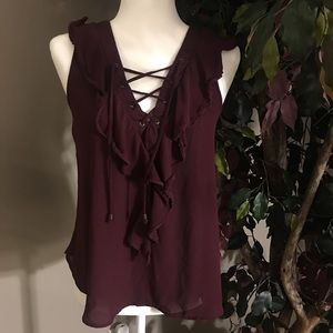 Tops - Ruffle blouse